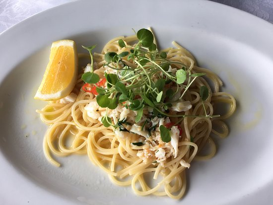 SPQR Cafe & Bar: Fresh Crab Spaghettini