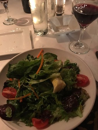 S & P Oyster Co: Green salad