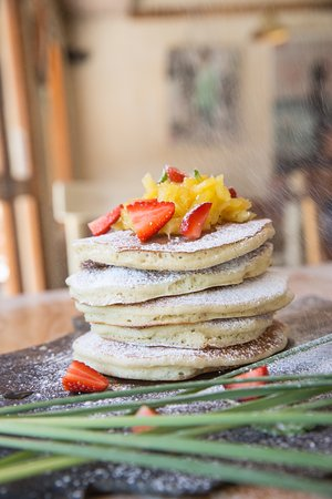 Mal País, Costa Rica: pancakes del caribe