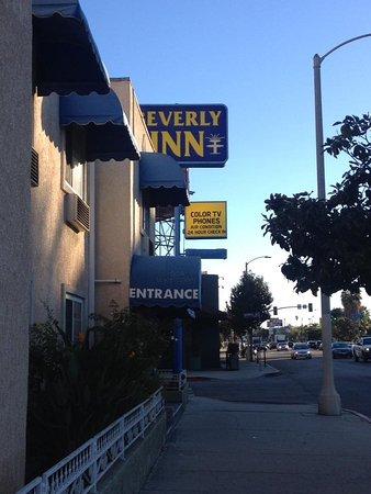 Beverly Inn: Outside of hotel