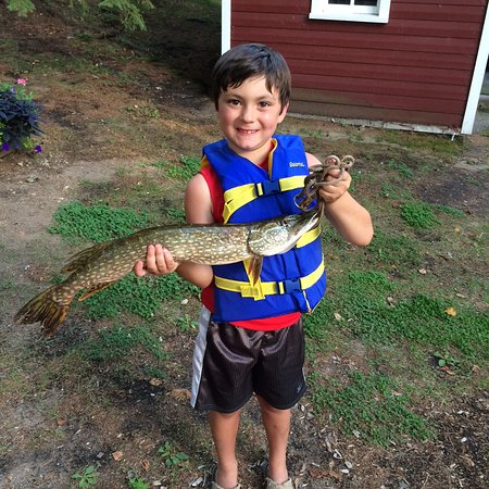 Two Inlets Resort: Fishing for northern pike