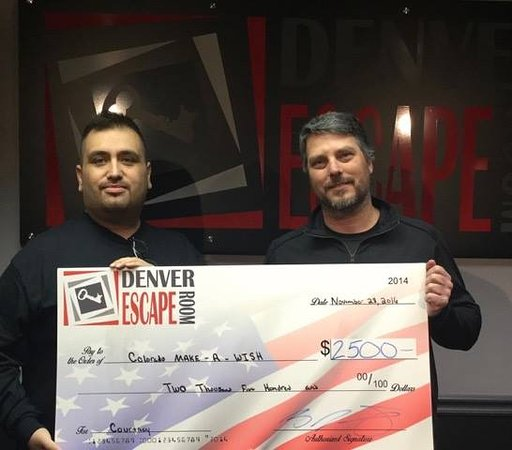 Northglenn, CO: Colorado Make-A-Wish donation!!