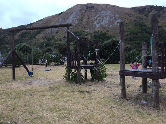 Mahia Beach, New Zealand: Kids Playground