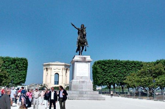 Recorrido a pie por Montpellier...
