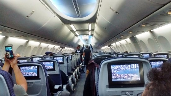 newest 305b8 5b641 Copa Airlines  interior of the boeing aircraft