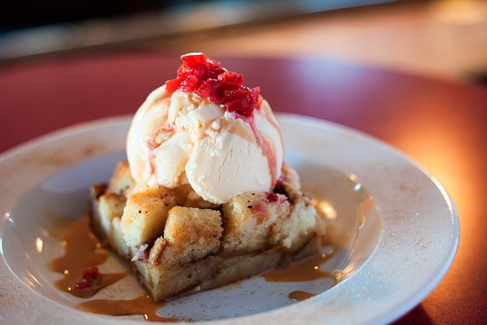 Hurst, TX: our Strawberry Bread Pudding!