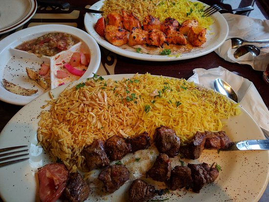Bridgeview, IL: Lamb Shish Kebab & Chicken Shish Kebab