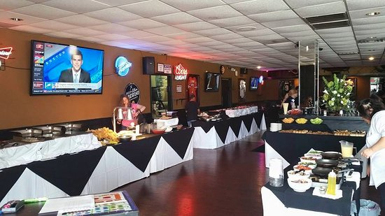 Hurst, TX: Sunday Brunch Buffet set up! Best Deal in town!!, softdrinks, coffee, tea, & Bottomless Mimosas