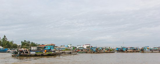 Chau Doc Floating Market