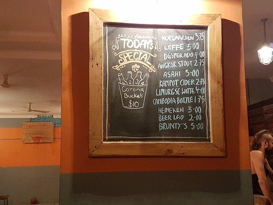 Cafe Gecko Happy Hour