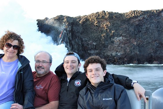 Pahoa, HI: family photo