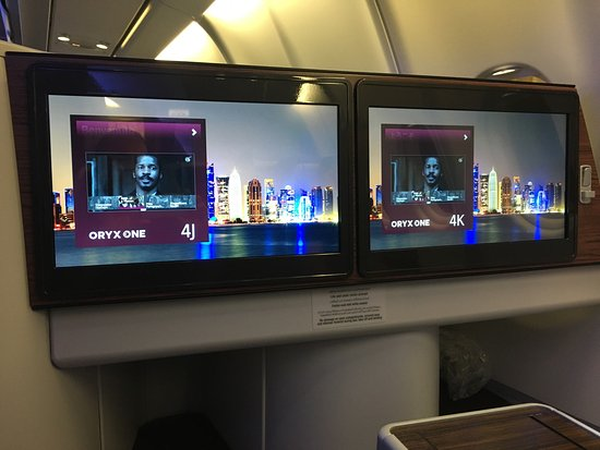 Business Classe 777 Et A330 Picture Of Qatar Airways World