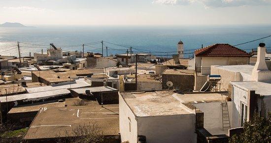 Kerames, Greece: View from balconyof Castro Kerame