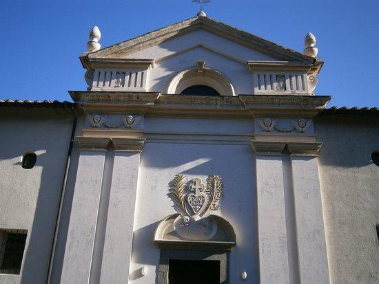 Monte Argentario, Ιταλία: Facciata della chiesa