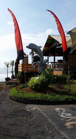 Blahbatuh, Indonesien: Entrance to Dolphin Wake