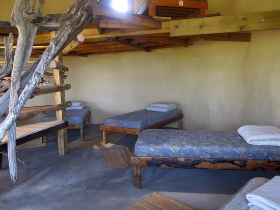 Lubanzi Village, Sør-Afrika: no bunk beds in our dorm!