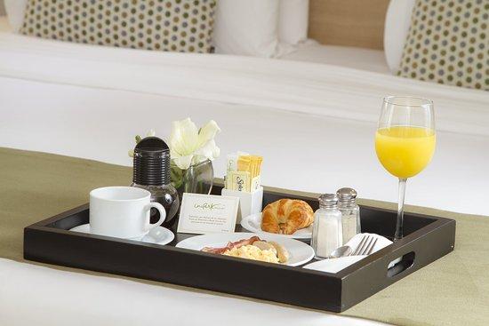 In Room Breakfast at Unipark Hotel