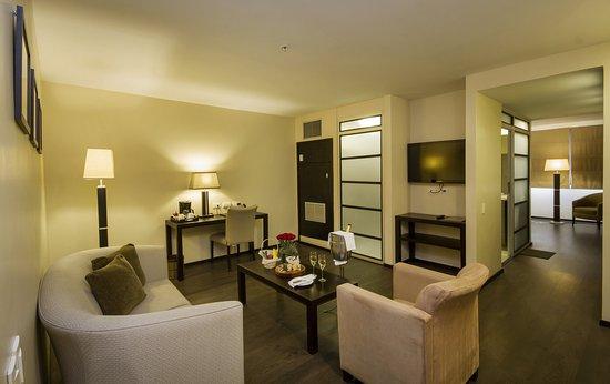 Signature Suite Living Room at Unipark Hotel