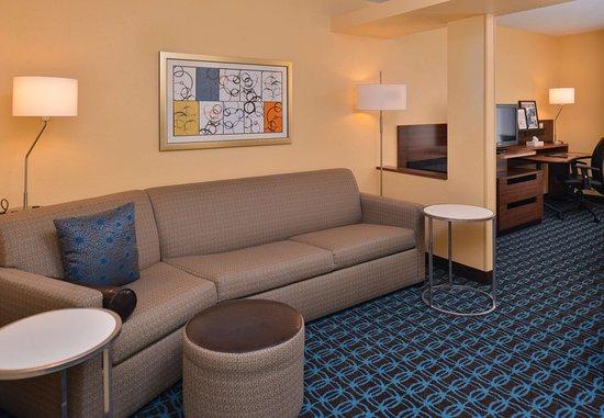 Jeffersonville, Ιντιάνα: Executive Suite - Living Area