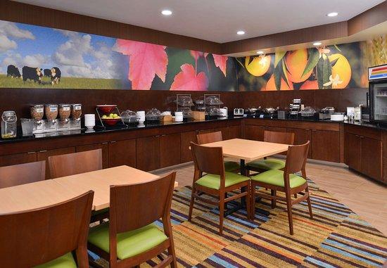 Jeffersonville, Индиана: Breakfast - Seating Area