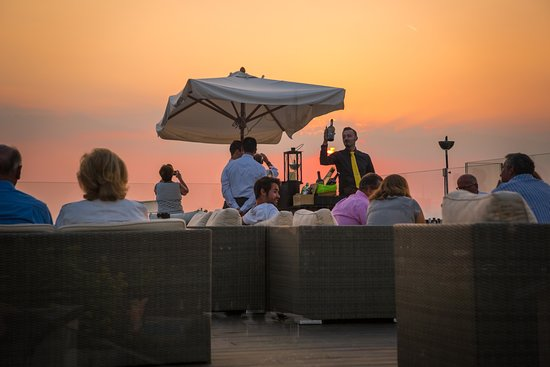 "Color Hotel: Charming Sunsets and Fine Dining... ""La Vista"" Terrace open for special events"