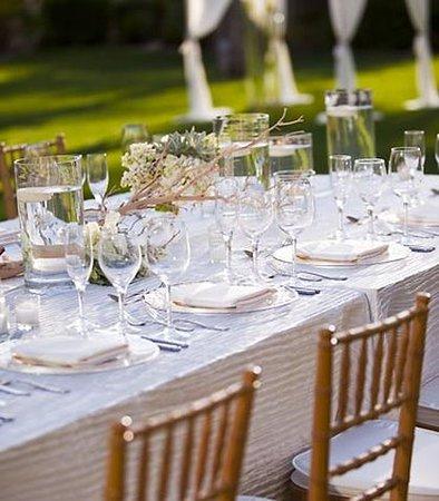 Indian Wells, كاليفورنيا: Rose Lawn Reception