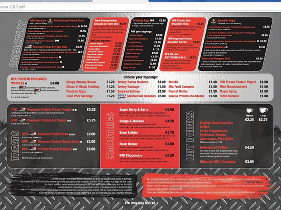 Health And Fitness Kitchen Trafford Park