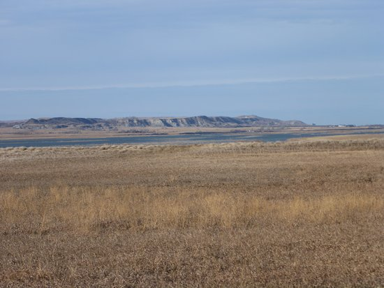Dakota del Norte: 1806 ND over the Misouri River