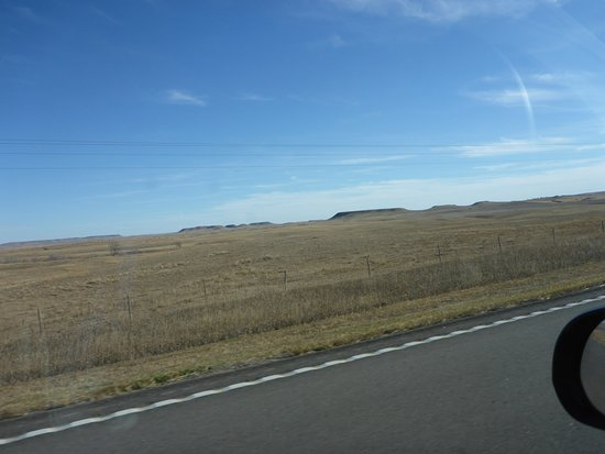 North Dakota: What Lewis & Clark Saw (without the car mirror !)