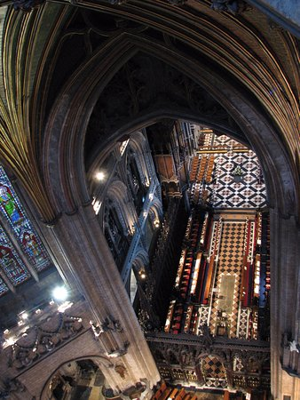 Ely, UK: From on high.