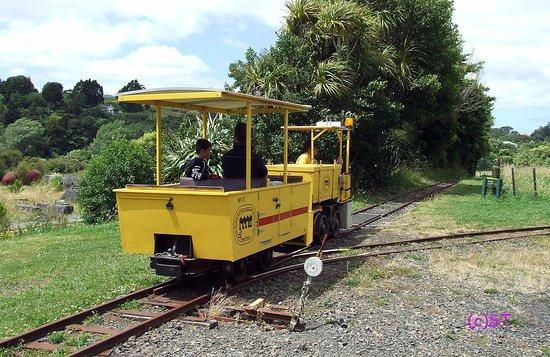 Waihi, Новая Зеландия: The Tram