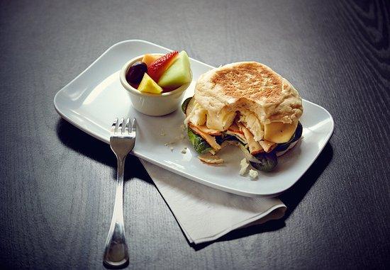 Milford, Массачусетс: Healthy Start Breakfast Sandwich