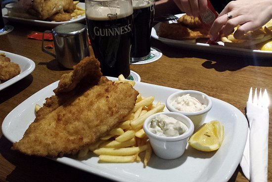 Portmagee, Irland: Fish & Chips