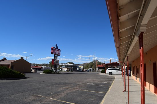 Gallup, Nuevo Mexico: From our room