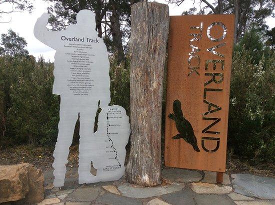 Cradle Mountain-Lake St. Clair National Park, Australia: Information sign