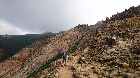 Nasudake, chausudake Mountain : 那須岳(茶臼岳)