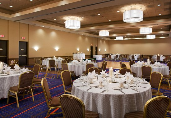 Baldwin Park, Califórnia: Sierra Madre Ballroom - Banquet Setup