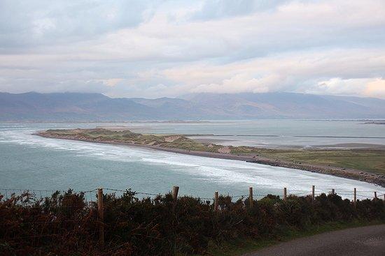 Glenbeigh, Ireland: Blick von oben auf den Strand.