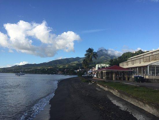 Saint-Pierre, Martinique: Splendide endroit