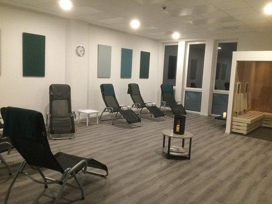 Grunberg, Tyskland: Der neue Wellnessbereich im Sporthotel Grünberg lässt keine Wünsche offen!