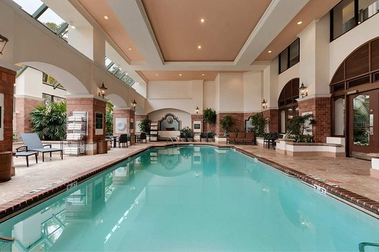 Indoor Pool - Picture of Embassy Suites by Hilton Dallas DFW ...