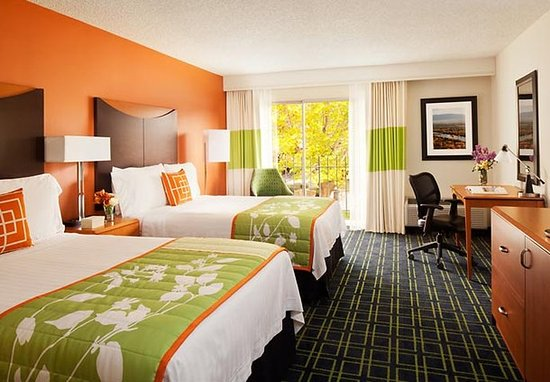 Fairfield Inn Albuquerque University Area: Double/Double Guest Room