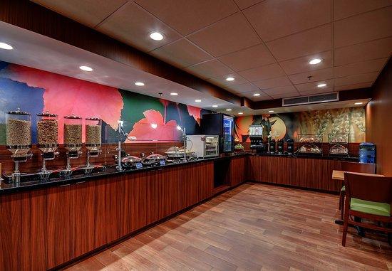 Wallingford, Коннектикут: Breakfast Buffet