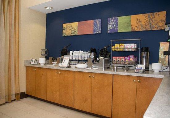 Anderson, Carolina Selatan: Breakfast Area