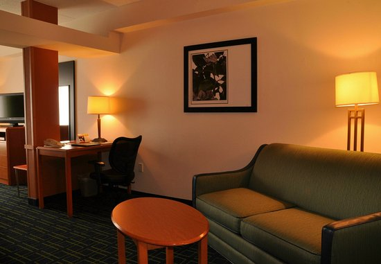 Christiansburg, VA: King Suite Living Area