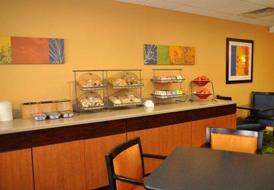 Christiansburg, Wirginia: Breakfast Area