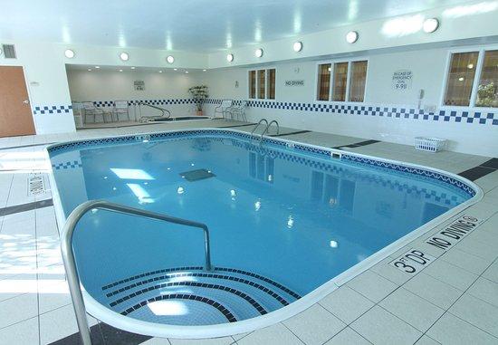 Burnsville, Μινεσότα: Indoor Pool & Whirlpool