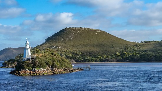 Strahan, Australia: Bonnet Island, near the entrance to Macquarie Harbour
