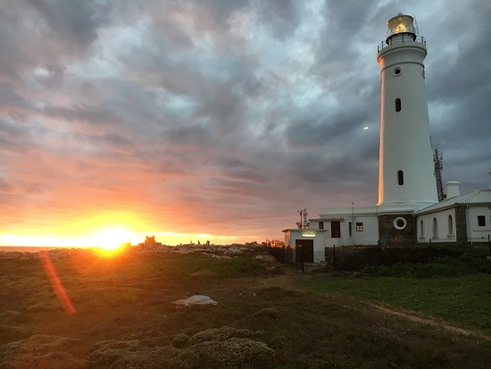 Cape St Francis, Zuid-Afrika: sunset at the lighthouse
