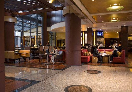 Bethesda Marriott Suites : Lobby {Reinvented}